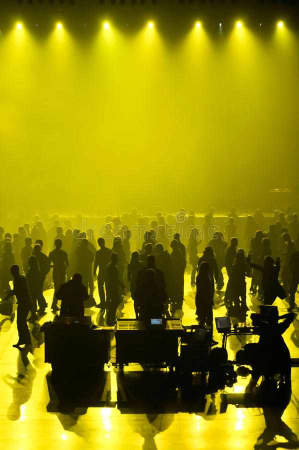 Download świetlicowa Koncertowa Muzyka Obraz Stock - Obraz: 17100361