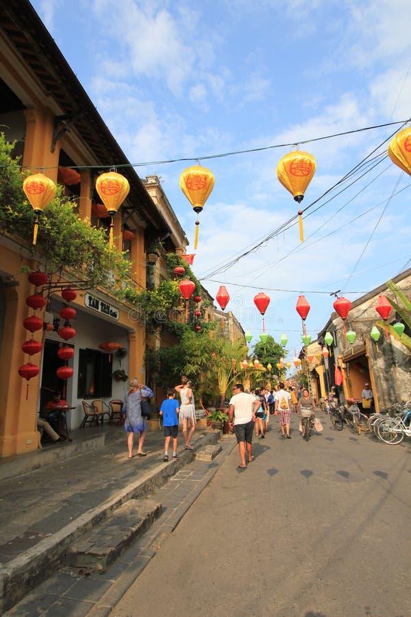 Wietnam Hoi Antyczny miasteczko zdjęcia royalty free