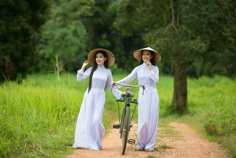 Wietnam kobiety piękne zdjęcie stock
