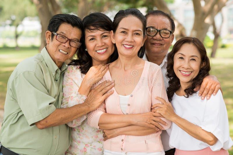 Wietnamczyków dojrzali ludzie zdjęcie royalty free
