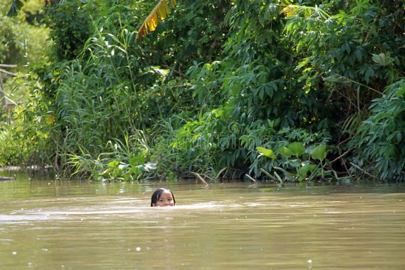 Wietnamska dziewczyna fotografia stock