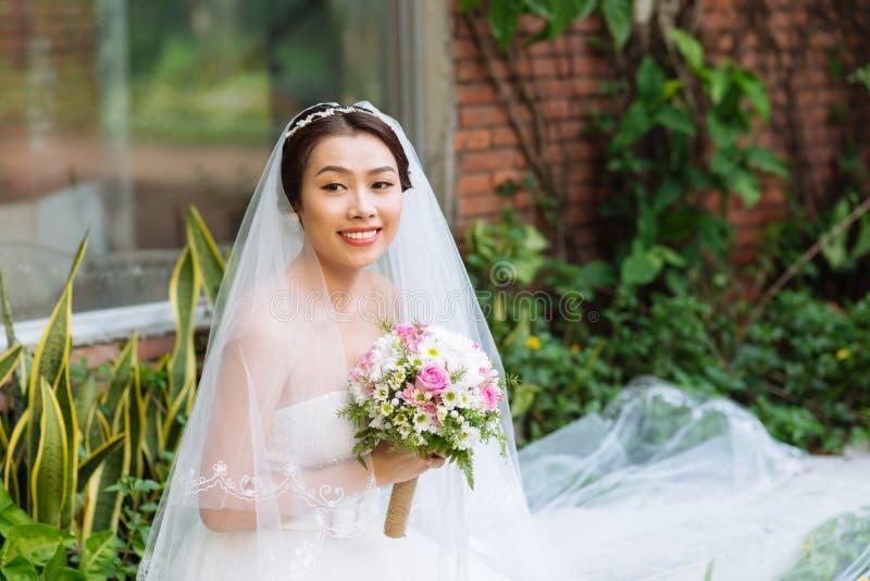 Wietnamska panna młoda zdjęcie stock