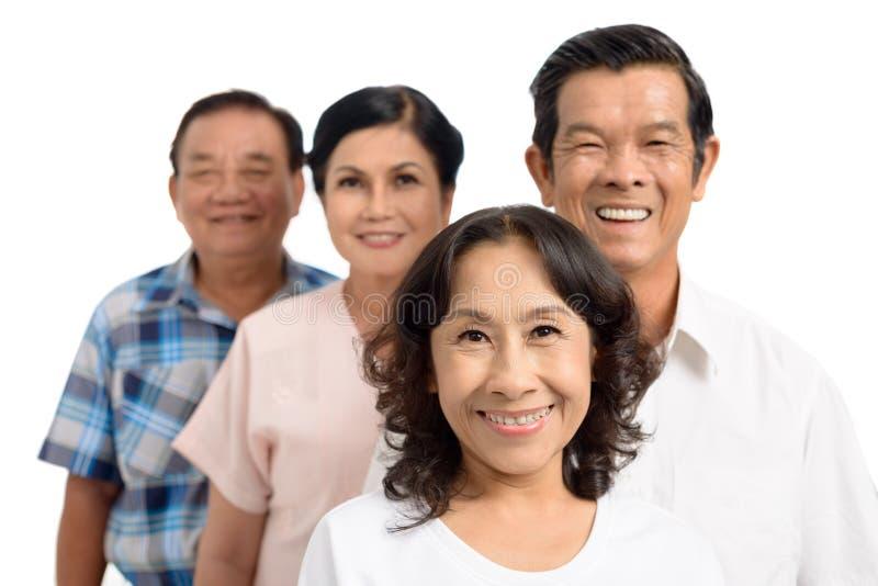 Wietnamska starsza dama obraz royalty free