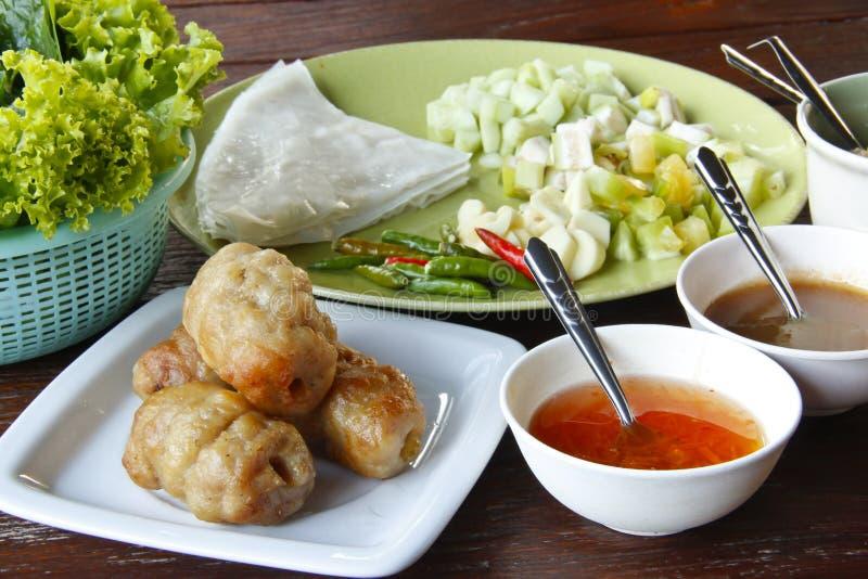 Wietnamski jedzenie obraz stock