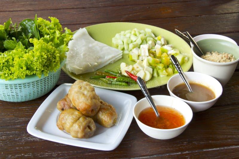 Wietnamski jedzenie zdjęcia royalty free
