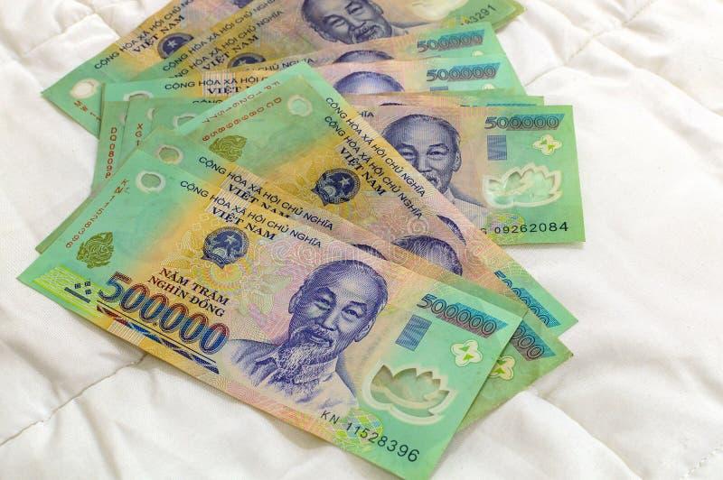 Wietnamski pieniądze Dong zdjęcia stock