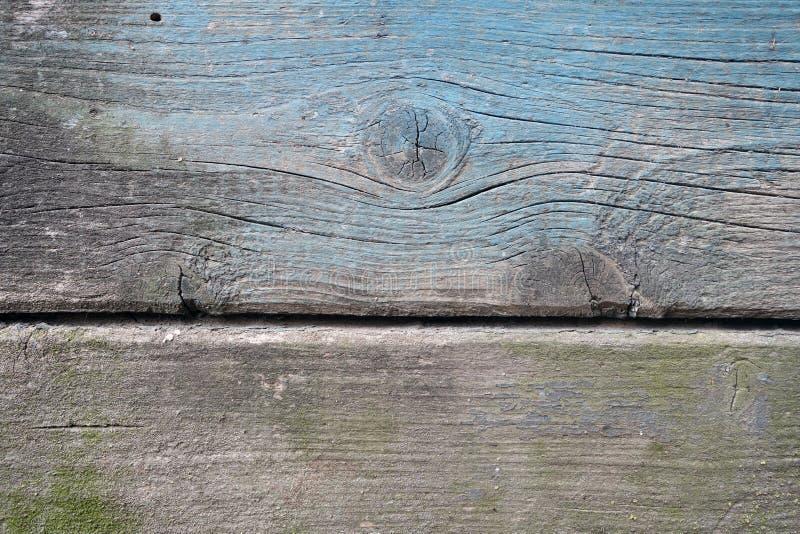 Wietrzej?ca drewniana maluj?ca ?ciana fotografia royalty free