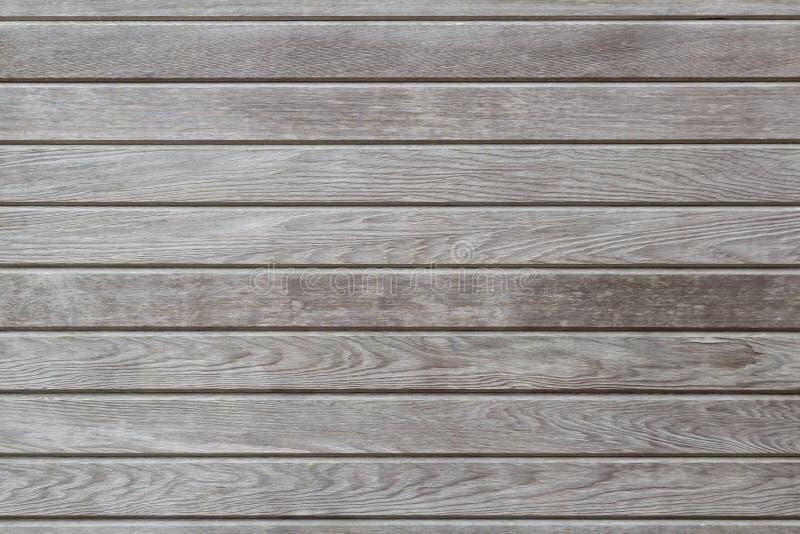 Wietrzejąca drewniana tekstura z naturalnymi wzorami, horyzontalnymi, backgr zdjęcie royalty free