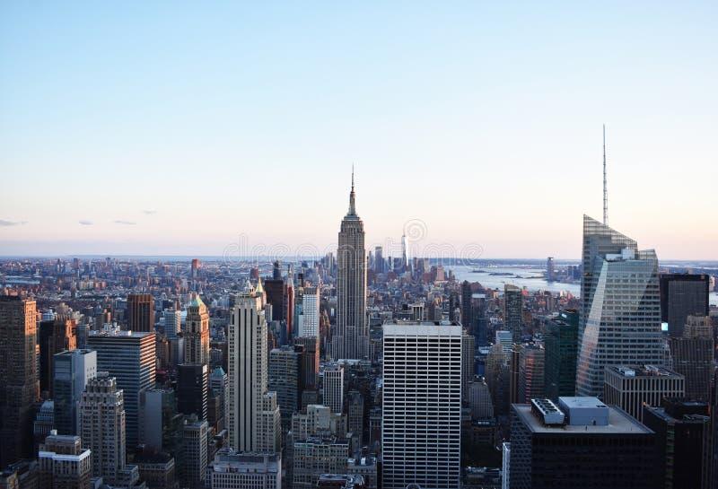 Wiew di New York fotografia stock