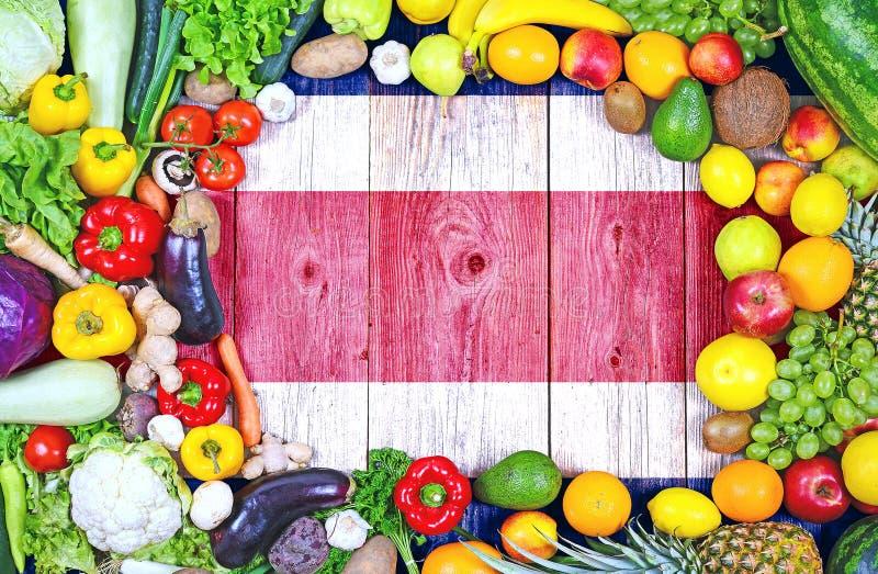?wiezi owoc i warzywo od Costa Rica obrazy royalty free