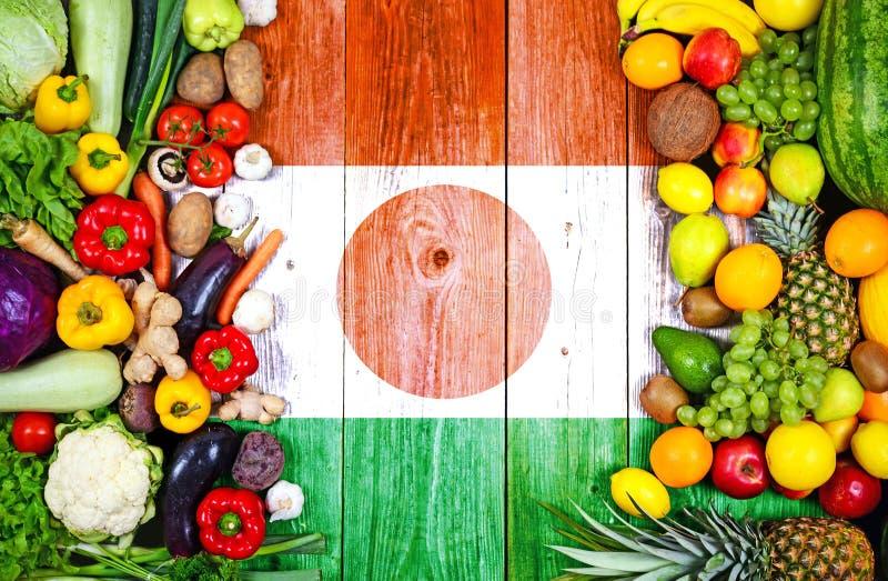 ?wiezi owoc i warzywo od Niger fotografia royalty free
