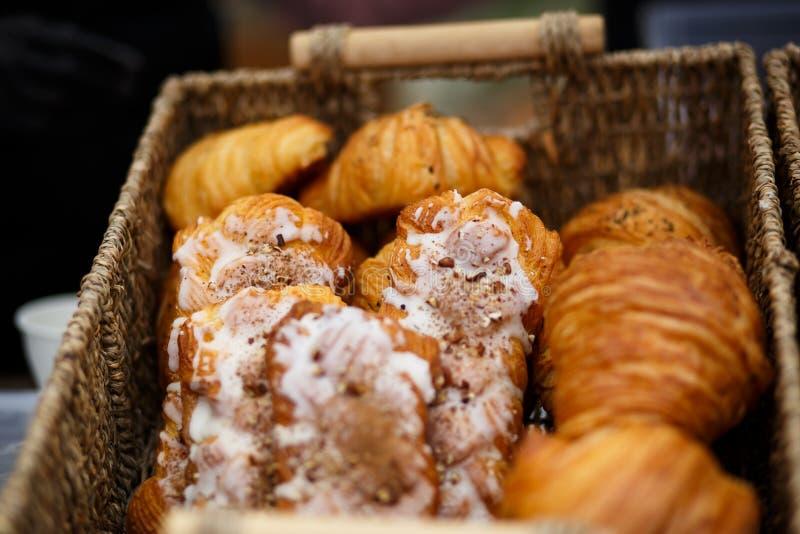 ?wiezi piec croissants obraz stock