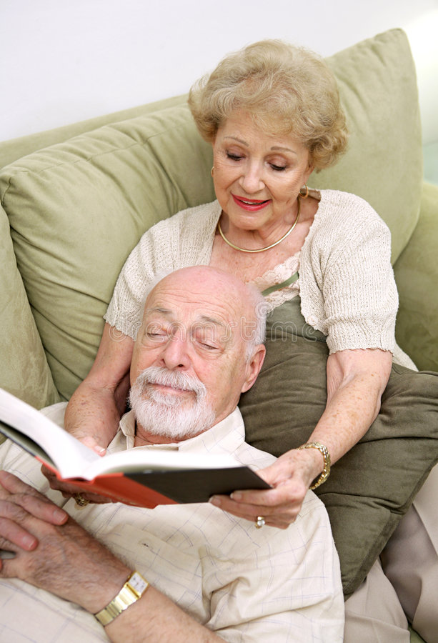 Download Wife Reading To Husband Stock Photo - Image: 2319140