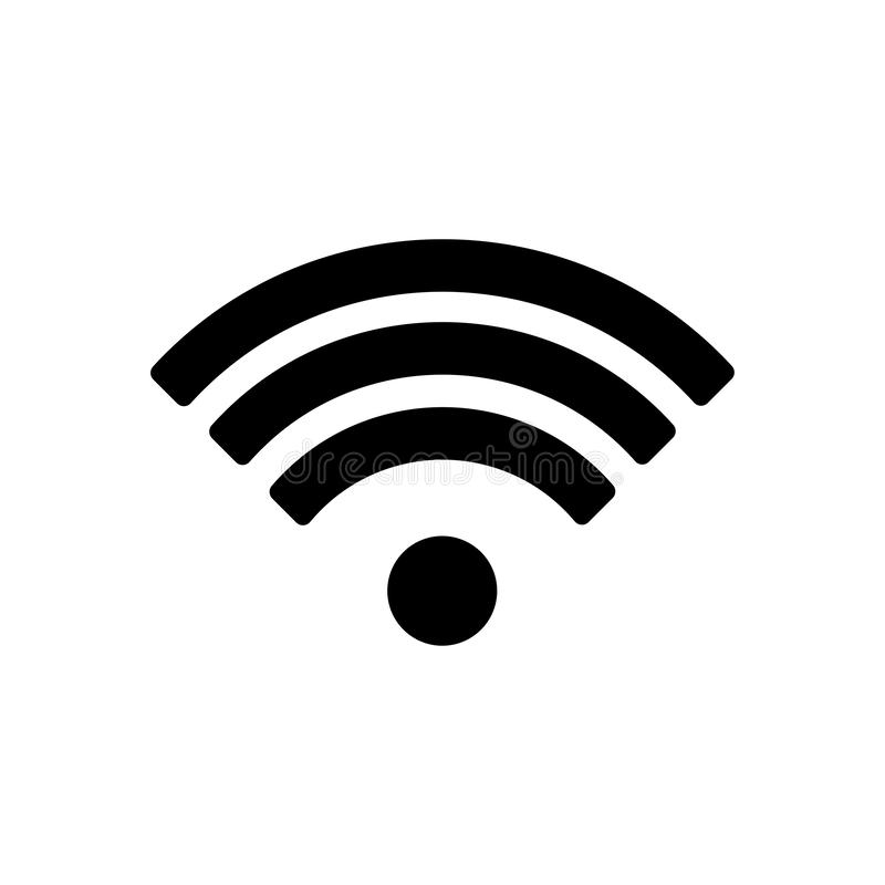 Wifi象,wifi象传染媒介隔绝在白色背景 wifi象图象,wifi象例证 10 eps 皇族释放例证