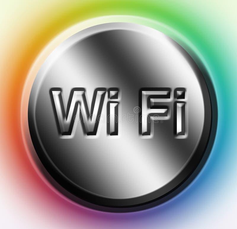 Wifi ilustración del vector