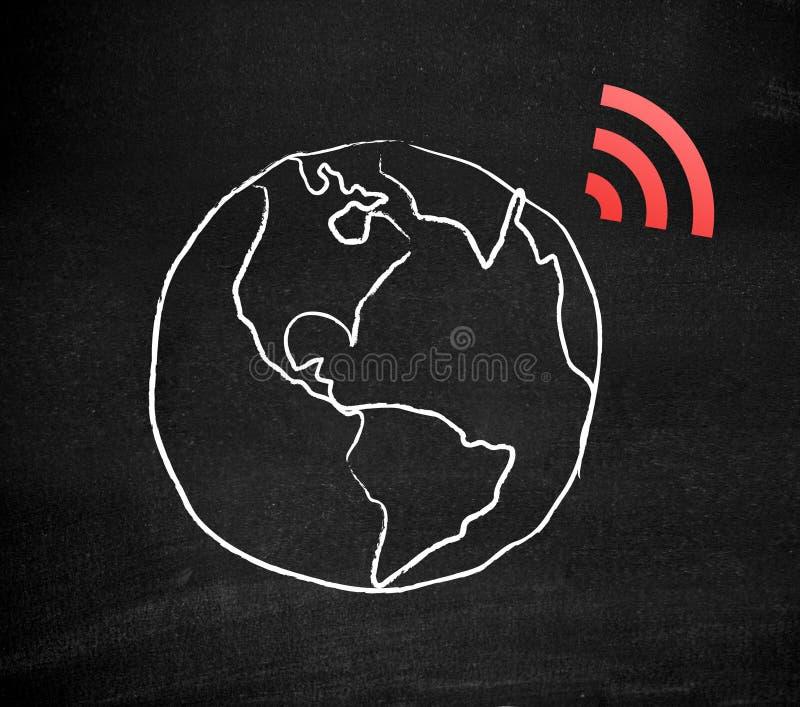 Wifi stock afbeelding
