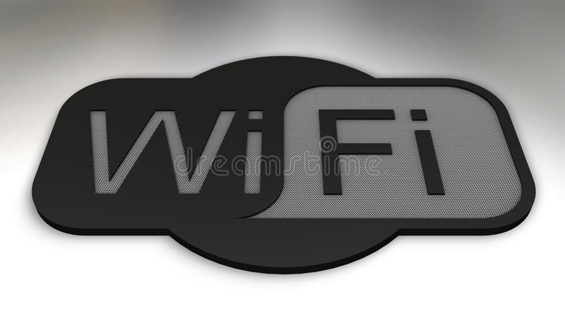 Wifi. 3d icon of wifi concept
