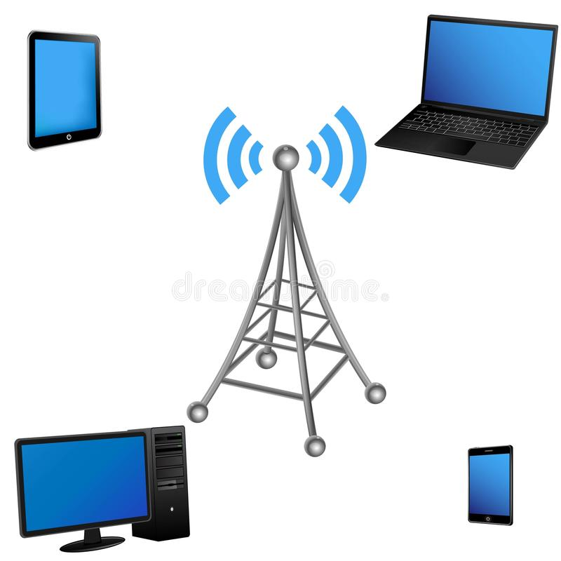 Wifi stock illustration