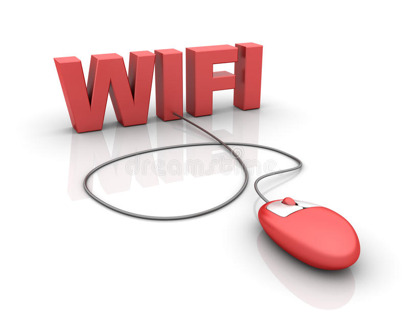 Download Wifi stock illustration. Image of network, text, global - 26968164