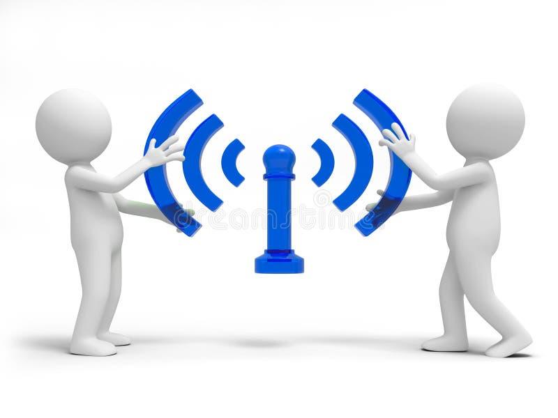 Wifi vector illustratie