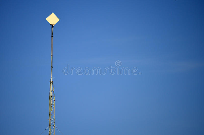 Wifi Ariel Mast stockbild
