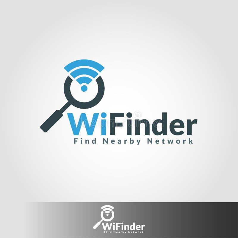 Wifi celownica - Gorącego punktu sieci celownica ilustracja wektor