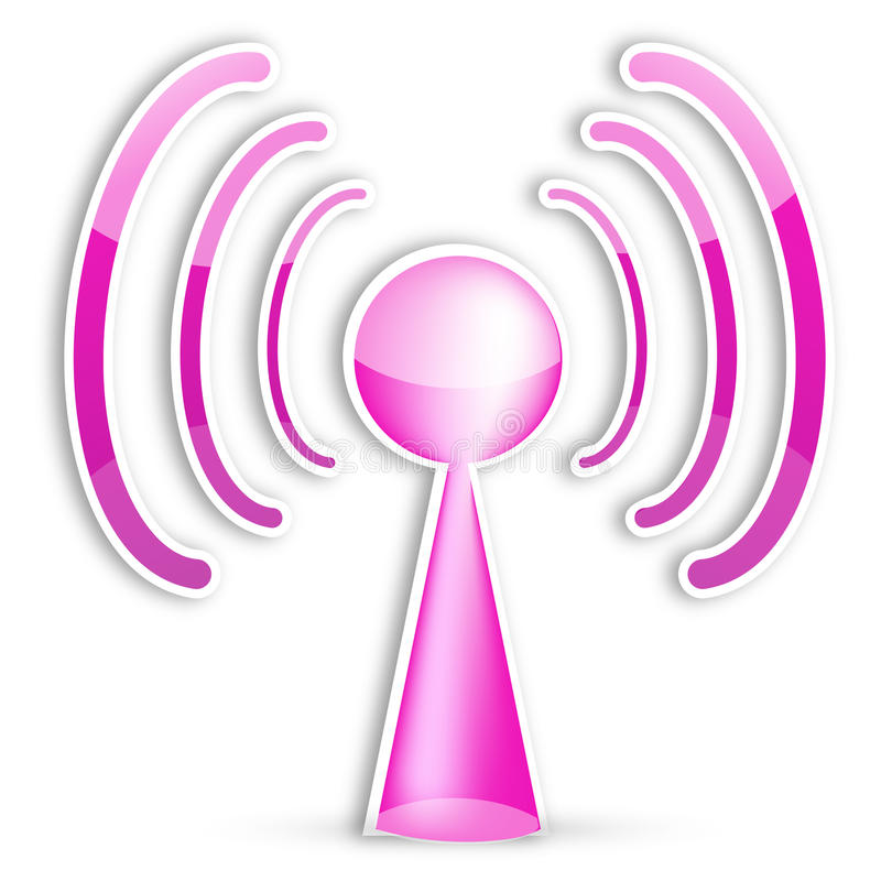 Download Wifi icon stock vector. Image of computer, icon, phone - 15781656
