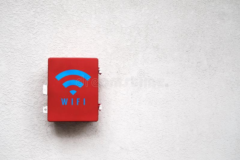 Wifi stockfoto