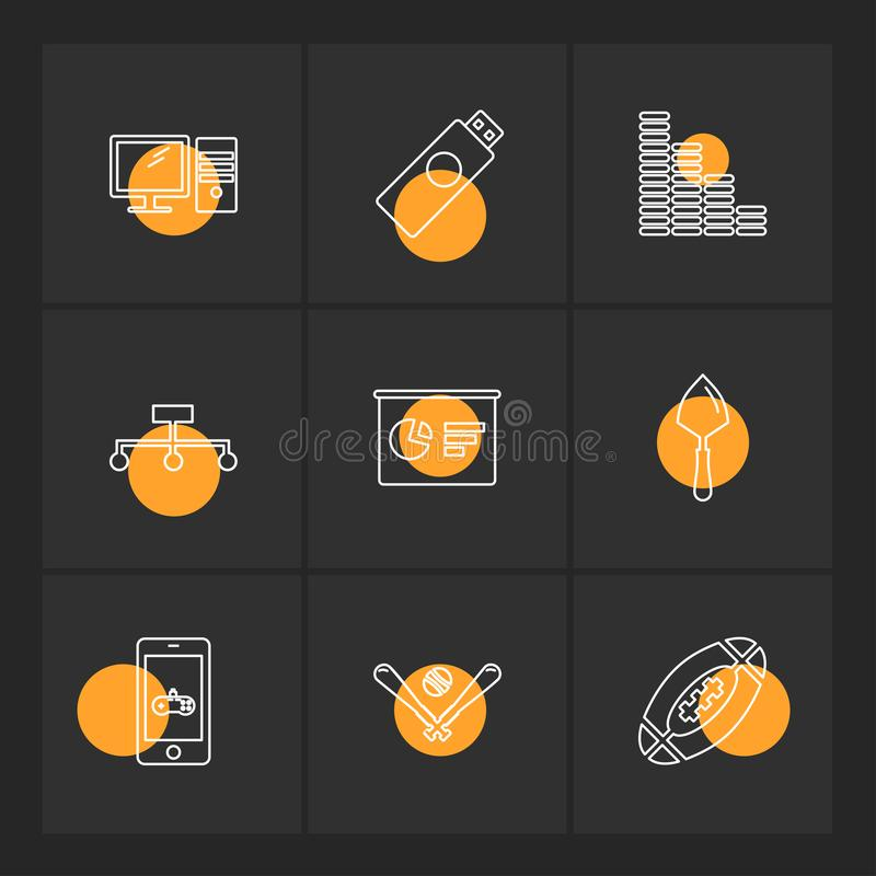 Wifi , internet , connectivity , pie chart , network , eps icons. Wifi , internet , connectivity , pie chart , network , coins , graph , infrared , icon, vector vector illustration