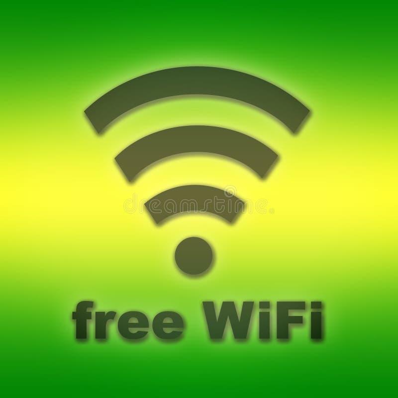Wifi libero royalty illustrazione gratis
