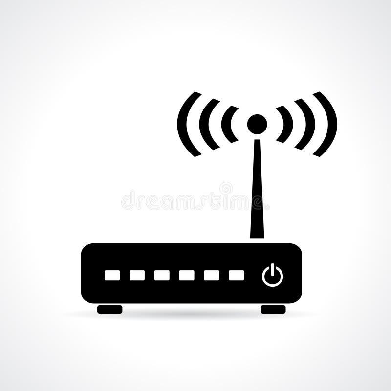 WiFi-Router royalty-vrije illustratie