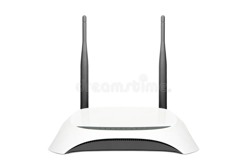 Wifi router. royalty free stock images