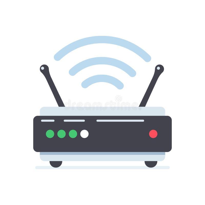 WiFi-routeur illustration de vecteur