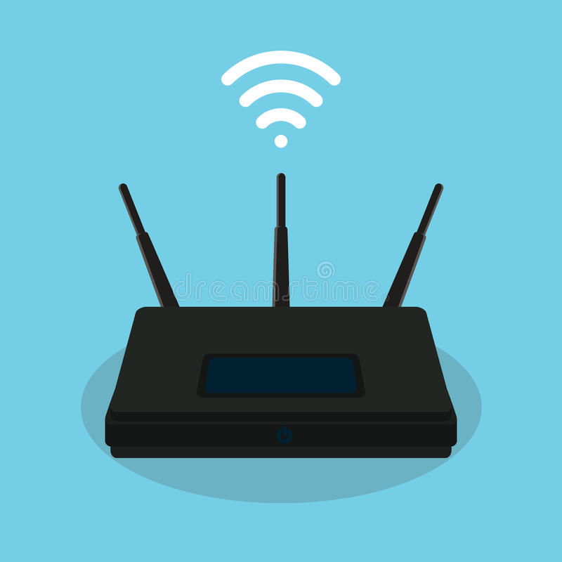 Free Wifi Singla Router Isolated Object Stock Photography - 67910962