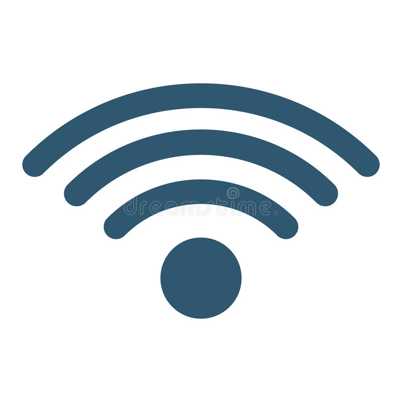 Wifi sygnału ikony wizerunek ilustracji
