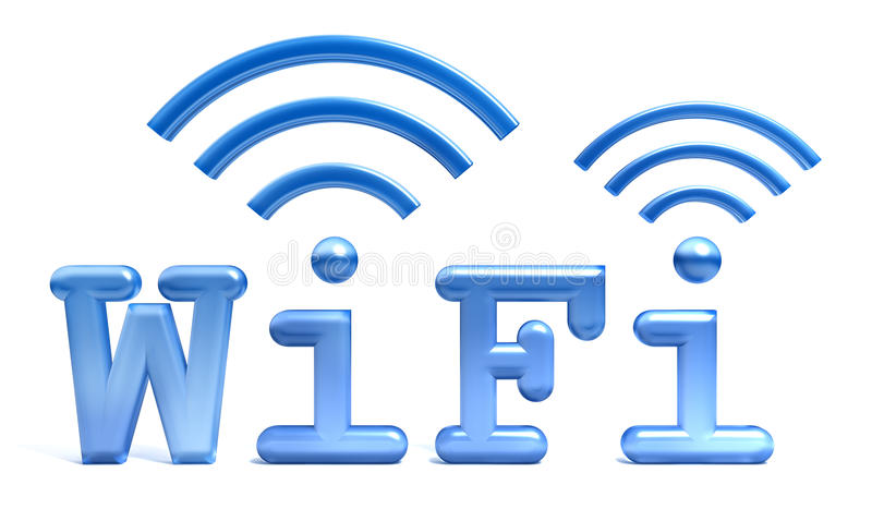 WiFi Symbol Stock Photography