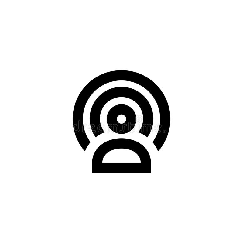 Wifi zone icon. Wireless connection sign royalty free stock images