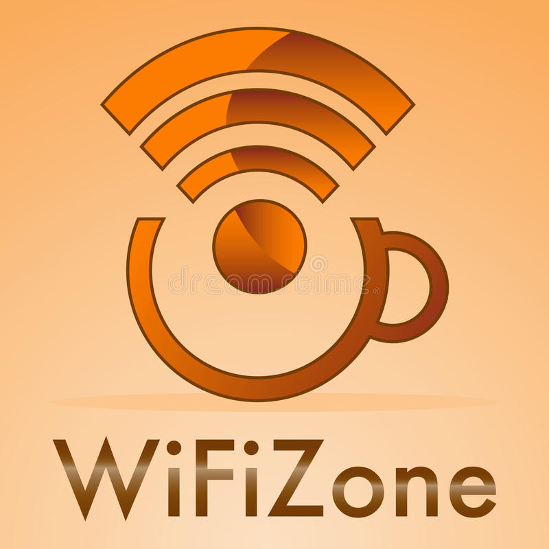 Wifi Zone Royalty Free Stock Images