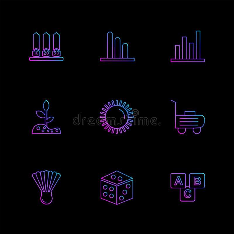 wifien infrared, hushållet, elektronik, eps-symboler ställde in vecto stock illustrationer