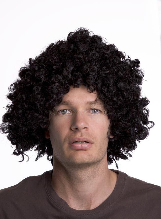 Wig royalty free stock photo