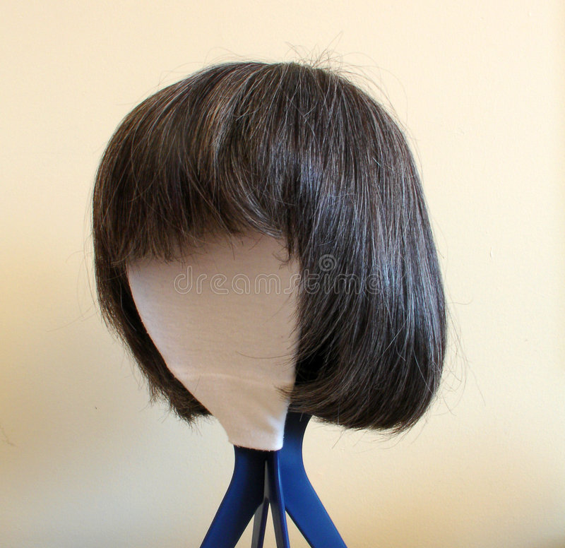 Download Wig stock image. Image of support, brushing, comb, postiche - 1504803
