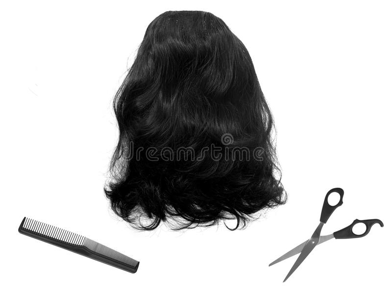 Download Wig stock image. Image of care, beauty, fashion, object - 27115471