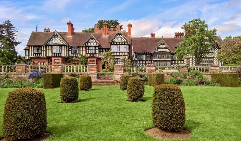 Wightwick-Herrenhaus, Wolverhampton, Großbritannien lizenzfreies stockfoto