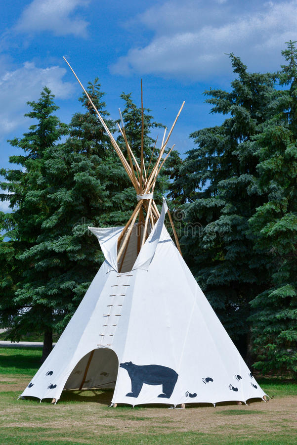 Wigwam stock images