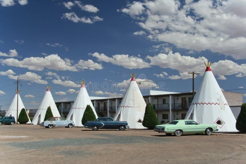 Wigwam Motel royalty free stock image