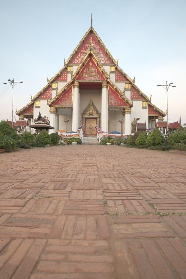 Wihan Mongkhon Bophit royaltyfri foto