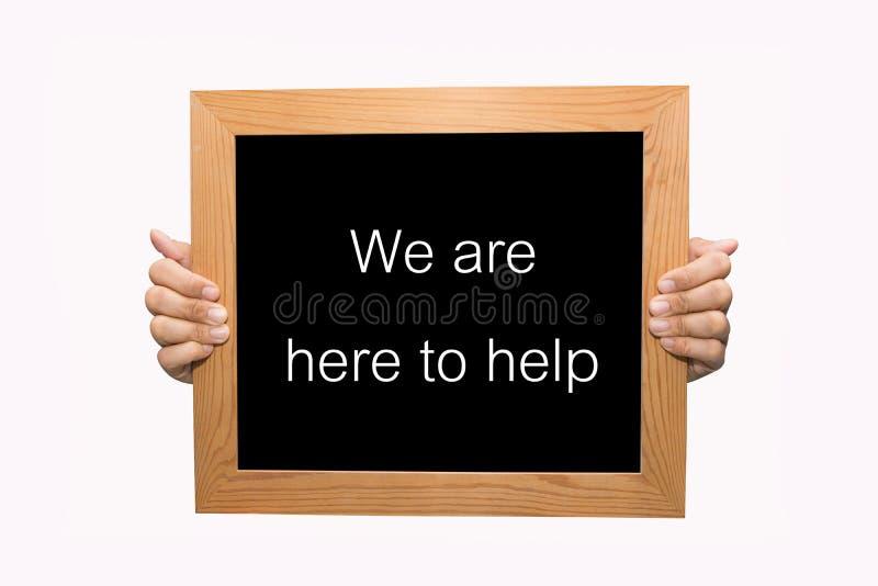 Download Wij moeten hier helpen stock afbeelding. Afbeelding bestaande uit media - 39114471