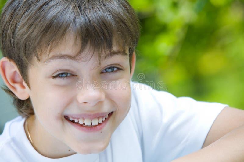 Wijd het glimlachen royalty-vrije stock fotografie