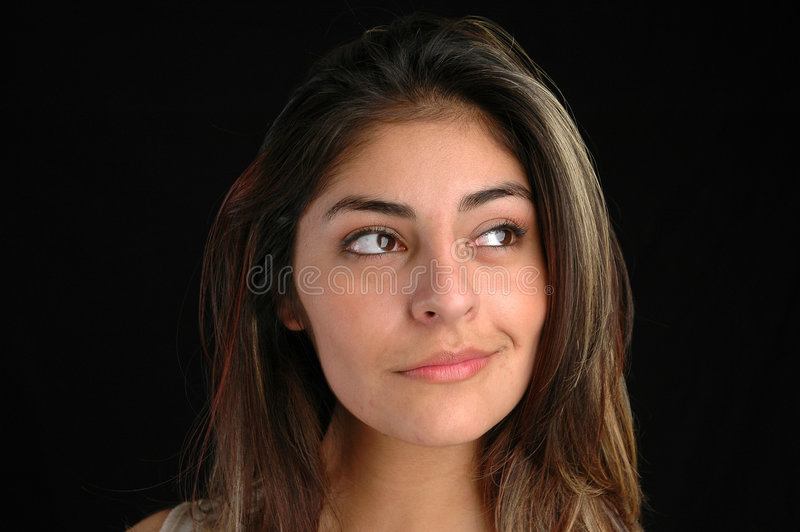 Wijfje portret-1 stock foto's