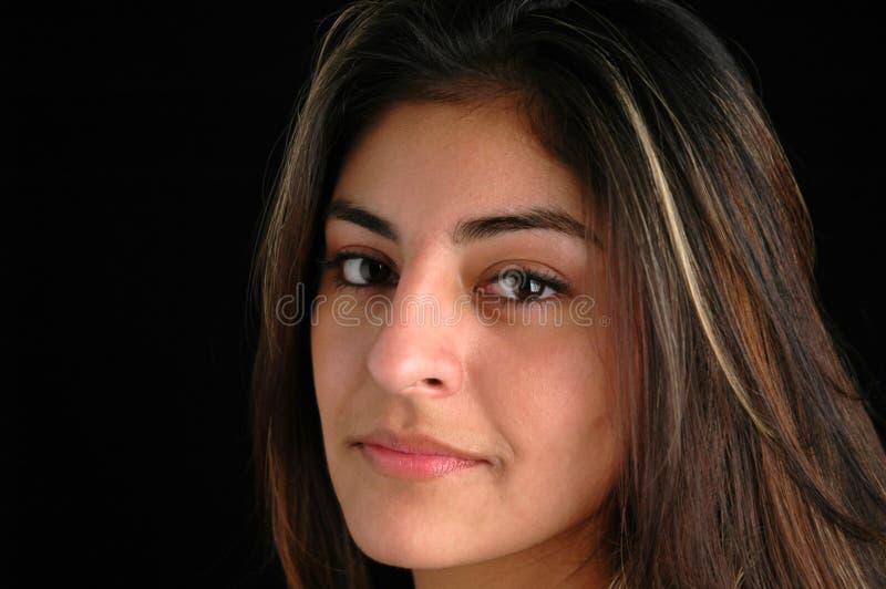 Wijfje portret-2 stock fotografie
